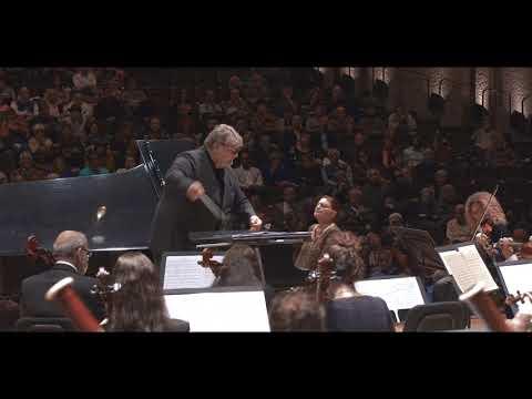 Chopin Piano Concerto #2 op.21 f-minor Oxana Yablonskaya 80th Birthday Celebration concert