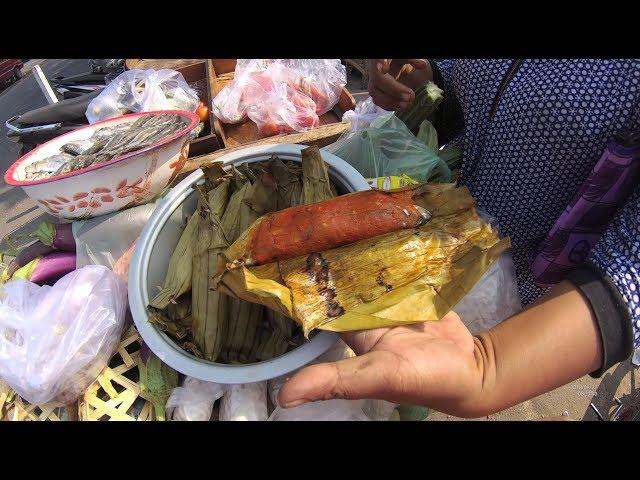 Indonesia Madura Street Food 2877 Botok Ikan Pindang Pasar Baru Kamal  YDXJ0227