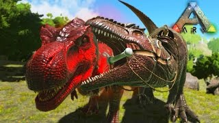 Ark Survival Evolved #26 Prezivljavanje -Giganotosaurus Vs Alpha T-Rex