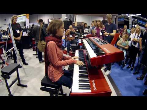 NAMM 2017 Rachel Flowers Performance at Nord