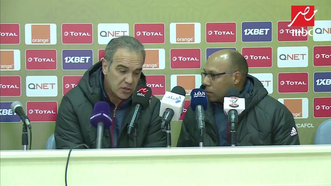المدير الفني لفريق الأهلي: فوزنا في آخر مباراة يعطينا الثقة وجاهزون للفترة المقبلة