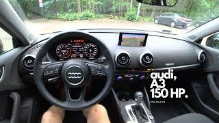 Audi A3 (1.5 TFSI 150 HP) 4K | POV Test Drive