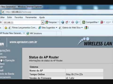 Configurando Radio com AP Router