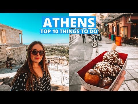 Top 10 Things To Do, See And Eat In Athens Greece 🇬🇷🏛