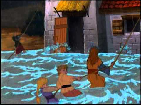 Animated Bible Story of Built Upon The Rock On DVD