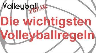 Die wichtigsten Volleyball Regeln für Einsteiger