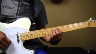 """COS Lead Guitar Tutorial for """"Good Good Father"""" by Housefires II"""
