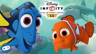 Disney Infinity Finding Dory Playset Complete Gameplay Walkthrough