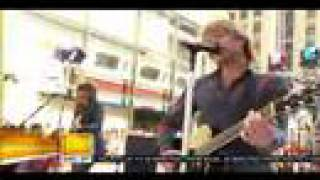 Bon Jovi - (You Want To) Make A Memory - Today Show 2007