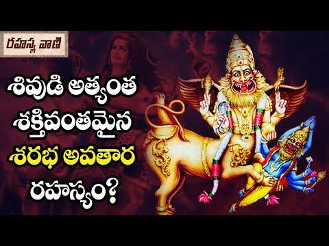 The story of Lord Shiva Sarabha Avatar? - Rahasyavaani