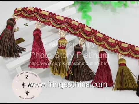 Video of curtain items