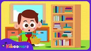Library Song   The Kiboomers   Kids Songs   Songs for Children   Preschool Songs   Storytime