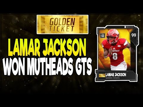 MUTHEAD GOLDEN TICKET IS LAMAR JACKSON! HOW EA MISHANDLED GOLDEN TICKETS THIS YEAR!| MADDEN 18