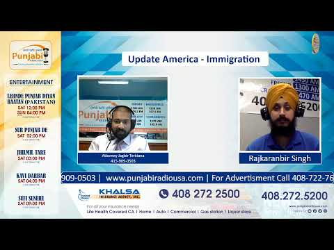Update America 19 Sep 2020 | Immigration- Attorney Jay Terkiana 415-909-0503