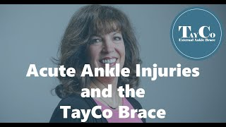 Get Back To Normal Life After An Ankle Injury - TayCo Testimonial