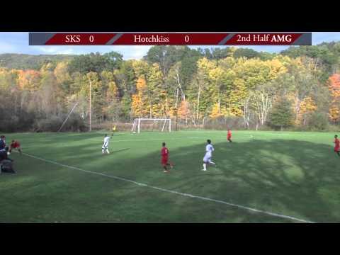 South Kent School Prep Soccer vs Hotchkiss at SKS