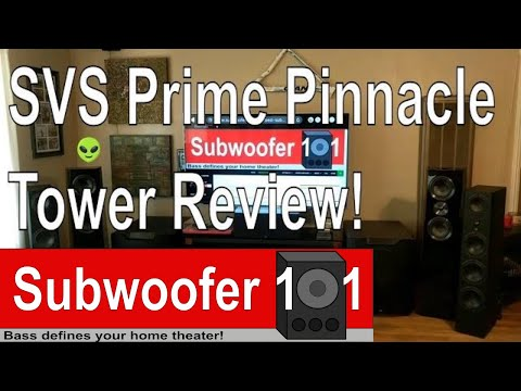 SVS Prime Pinnacle Tower Speaker Review (Compared to the Ultra Towers)