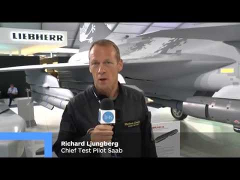 Saab's Chief Test Pilot Richard Ljungberg speaks to IHS Jane's about Saab's new Gripen E variant