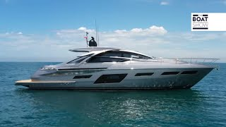 PERSHING 7X - Exclusive Yacht Review and Interiors - The Boat Show