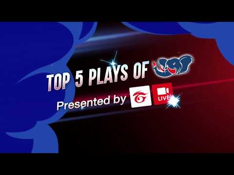 MEGA TOP 5 Plays - Road To Asian Games National Qualifiers 2018