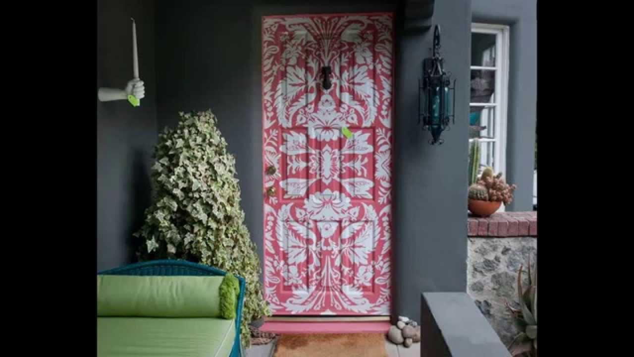 дизайн дверей очень оригинально и креативно банк идей