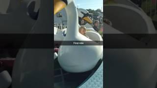 First carnival ride ever Fireman's Festival 2017