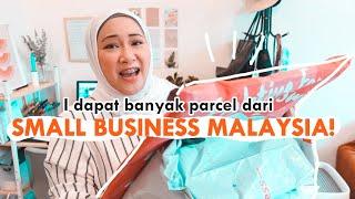 HAUL : I dapat banyak Barang BEST dari small business! Wajib tengok ❤️