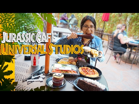 The Jurassic Cafe At Universal Studios Hollywood