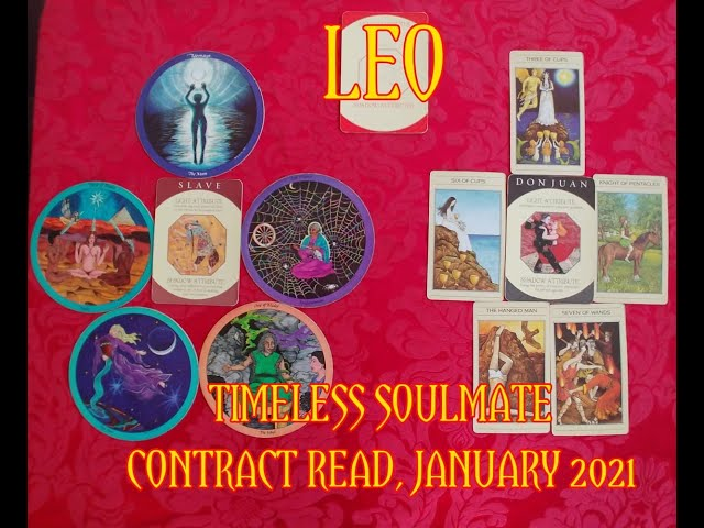 LEO: TIMELESS ROMANTIC SOULMATE READ = A SLAVE & A DON JUAN CONTRACT = JANUARY 2021