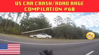 🇺🇸 [US ONLY] US CAR CRASH/ROAD RAGE COMPILATION #60