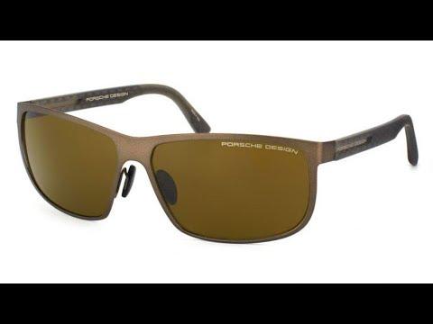 porsche-design-p8583-d-polarized-aviator-sunglasses【4k】