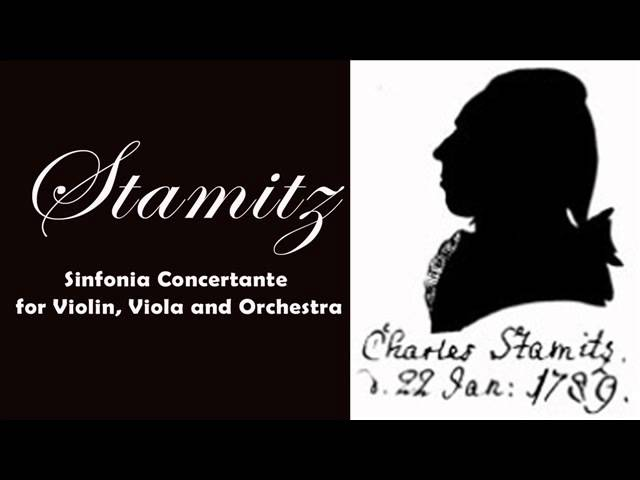 Stamitz: Sinfonia Concertante for Violin, Viola and Orchestra