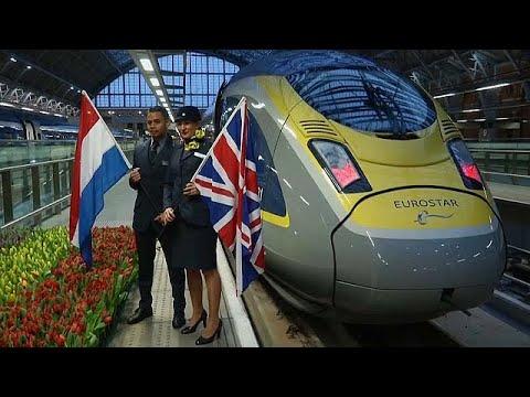 يوروستار تدشن أول خدمة قطار من لندن إلى أمستردام  - نشر قبل 4 ساعة