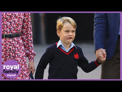 Happy 7th Birthday Prince George! Here Are Some of His Cutest Moments