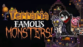 Terraria FAMOUS MONSTERS! | HALLOWEEN Special #2 | 1.3.5 PC | Console | Mobile