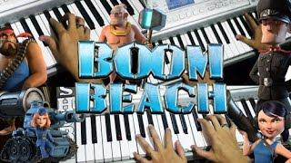 Boom Beach [Home Theme] Piano Cover (Multitrack)
