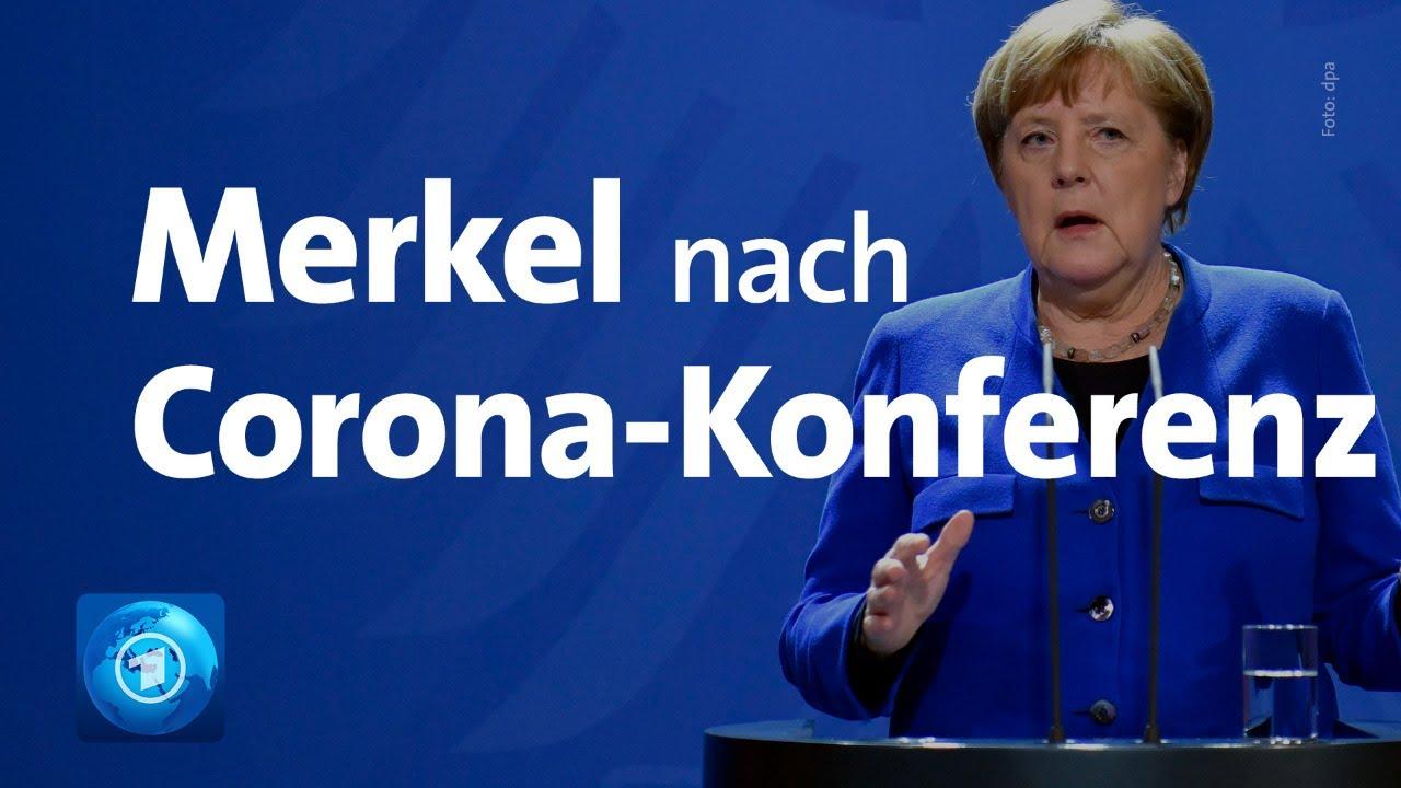 Coronavirus: Merkel zu neuen Regeln - Maximal zwei Personen erlaubt