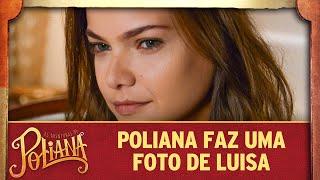 Poliana tira uma foto de Luisa | As Aventuras de Poliana