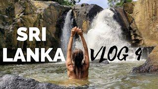 Влог#4: Водопад на Шри Ланке. Полиция отобрала права на Шри Ланке. Потерялись в джунглях.