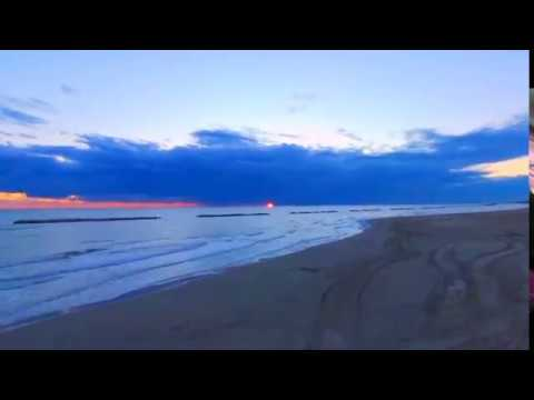 Sunrise On The Beach   Italy By  Drone Parrot Bepop