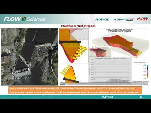 Modeling Spillways, Stilling Basins and Hydraulic Controls Webinar