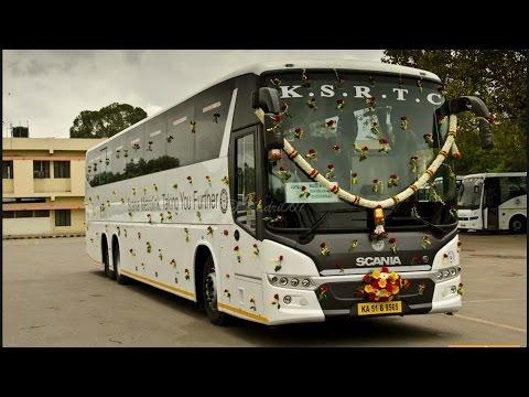 KSRTC SCANIA HD Metrolink 13.7M and 14.5M Multi Axle AC Buses,Karnataka