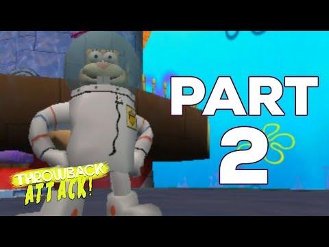 Spongebob Squarepants: Battle For Bikini Bottom Part 2 | SANDY CHEEKS (Throwback Attack)