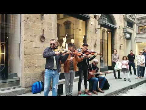 Street Musicians at Florence