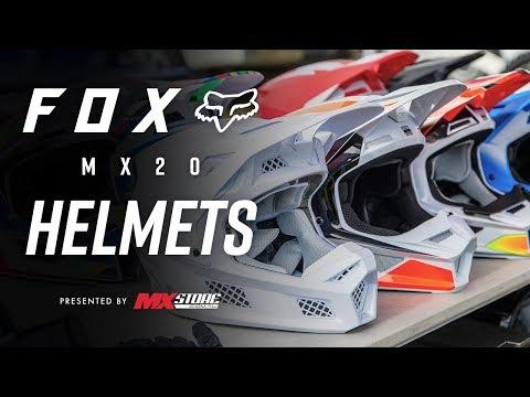 Fox 2020 MX Helmet Range | MXstore Buying Guide | MXstore.com.au