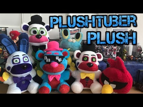 Plushtubers Plushies! (Maso777, SuperFredbear & more)