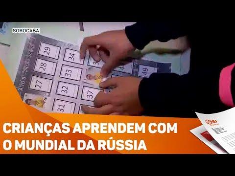 Crianças aprendem com o mundial da Rússia - TV SOROCABA/SBT
