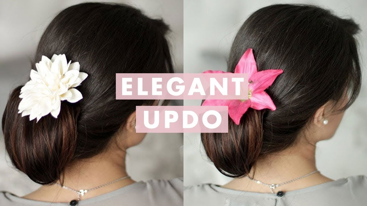 Elegant Up-Do Hair Tutorial
