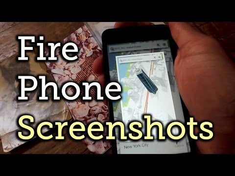Take a Screenshot with the Amazon Fire Phone [How-To]