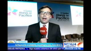 NTN24 presente en la Cumbre de la Alianza del Pacífico que se celebra en Perú